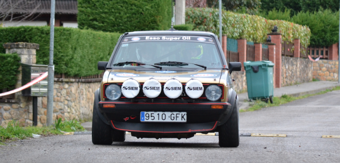 Asier Santamaría y Roberto Rentería se imponen en uno de los Rallystone más disputados de su historia