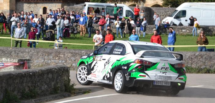 Pablo Fernández se impone en Toranzo y Dani Peña se lleva el titulo de Rallysprint