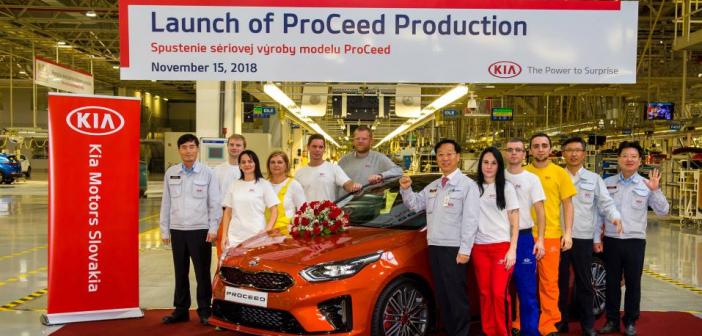 El Nuevo Kia ProCeed entra en producción y llegará al mercado en el primer trimestre de 2019