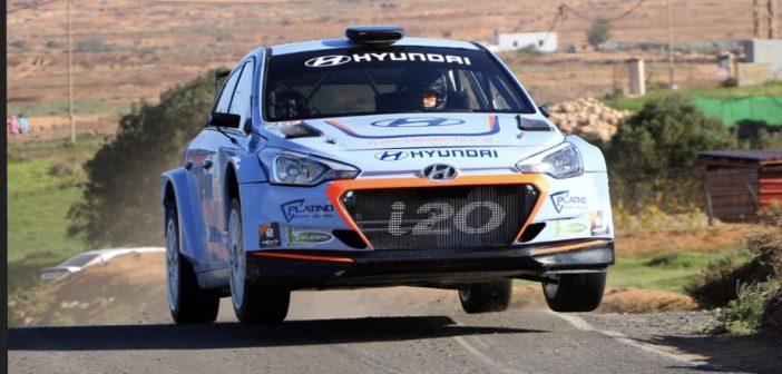 Surhayen Pernia termina el año logrando imponerse en el Rallysprint de Vega Nueva en Fuerteventura