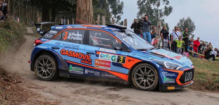 Surhayen Pernía concluye la temporada participando con su Hyundai i20 R5 con un rallysprint en Fuerteventura