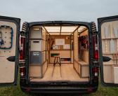 Nissan presenta el prototipo de furgoneta personalizada NV300 en el Salón del Automóvil de Bruselas