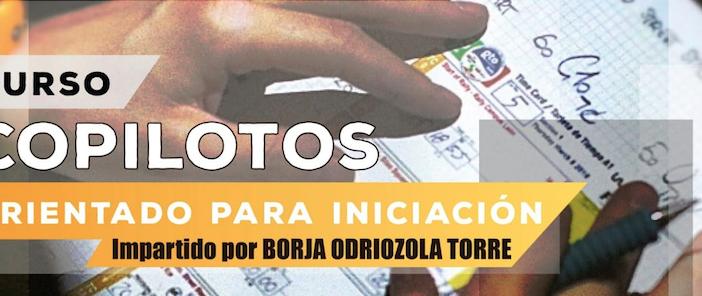 Borja Odriozola impartirá un curso para copilotos el próximo 16 de febrero