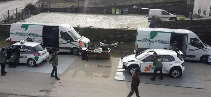Los equipos cántabros RaceSeven y ProRacing Competición, también estarán en el Rally Serras de Fafe