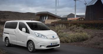 La furgoneta eléctrica Nissan e-NV200 bate su récord de matriculaciones en el mercado español.
