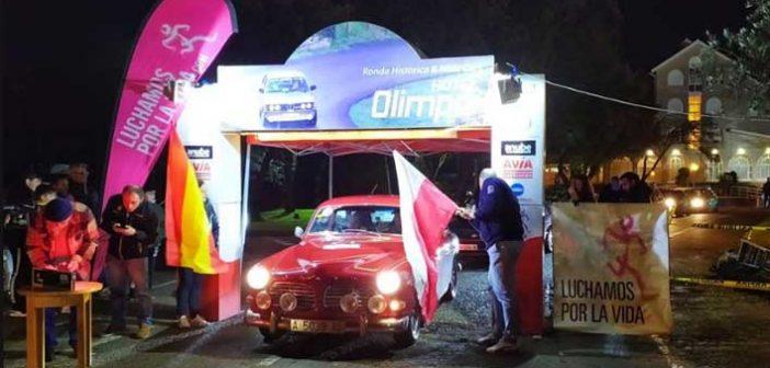 Juan Luis y Jorma Redo, lideran la Ronda Histórica Hotel Olimpo tras la primera etapa