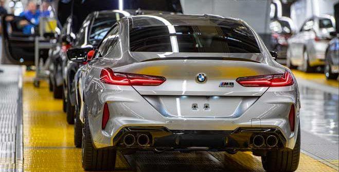 Se inicia la producción del nuevo BMW M8 Gran Coupé