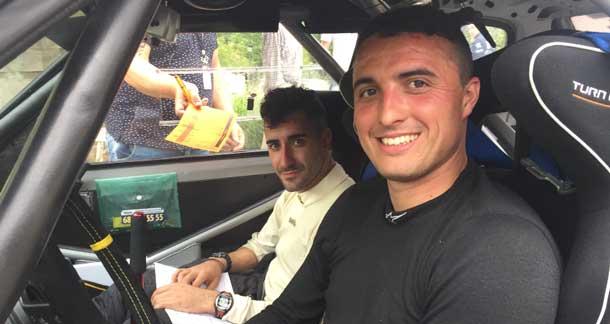 El copiloto cántabro Iván Bajo, se proclama Campeón de Asturias de Rallies junto a Manuel Mora