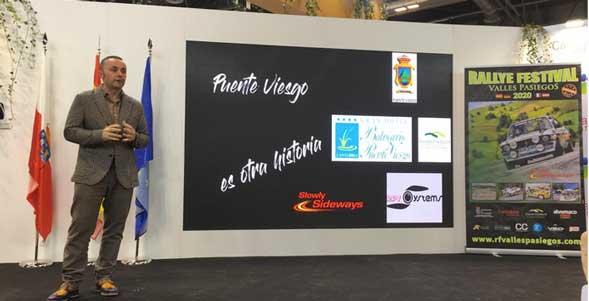 El Rallye Festival Valles Pasiegos presentado hoy en Fitur