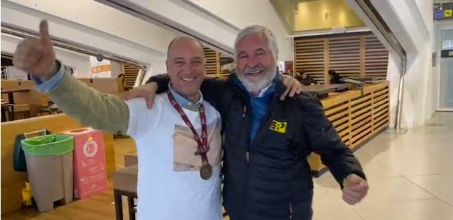 Jesús Puras y Jose Luis Peña ya estan en casa tras concluir el Dakar
