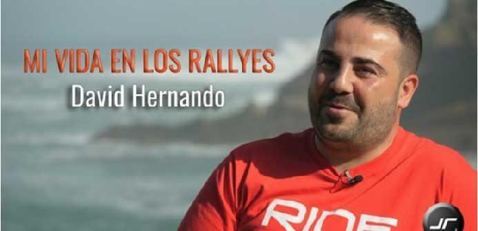 Nueva entrevista de nuestros amigos de JR-Rallye, esta vez a David Hernando