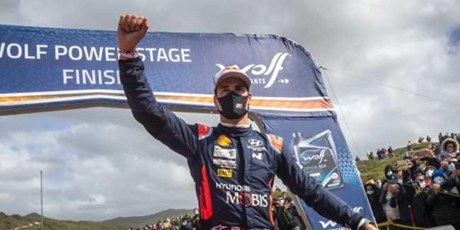 Dani Sordo concluye la temporada en el Rally de Monza