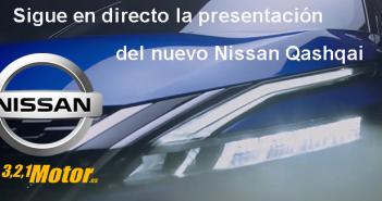 Sigue la presentación en directo del nuevo Nissan Qashqai