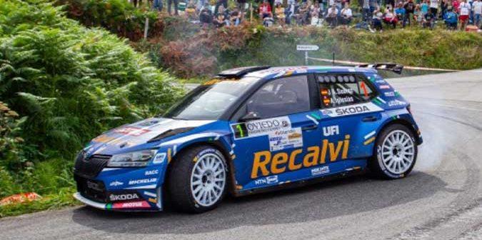 El Rallye Villa de Llanes se pone en marcha con 134 equipos y «cohete» Suarez de lider del SCERA