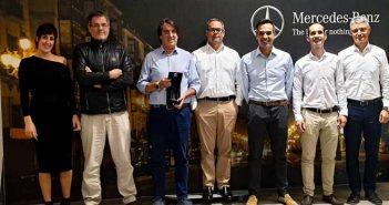 Adarsa Norte, galardonado como mejor concesionario Mercedes-Benz Financial Services de España.